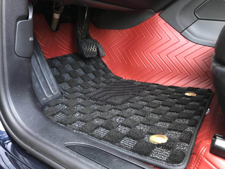 保时捷曼卡安装360°全包脚垫